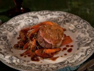braised-lamb-smoked-chorizo-barley-and-roasted-carrots