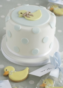 Caroline Goulding Christening Cake