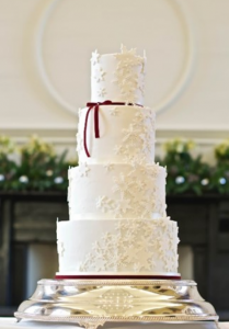 Caroline Goulding Wedding Cake